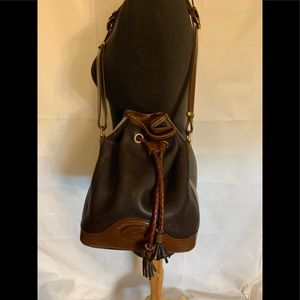 Vintage Dooney and Bourke drawstring AWL bag